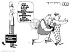 Cartoonist Steve Kelley  Steve Kelley's Editorial Cartoons 2008-03-27 euthanasia