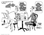 Cartoonist Steve Kelley  Steve Kelley's Editorial Cartoons 2008-04-03 science