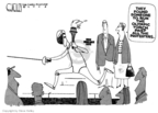 Steve Kelley  Steve Kelley's Editorial Cartoons 2008-04-08 2008 Olympics