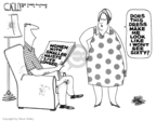 Cartoonist Steve Kelley  Steve Kelley's Editorial Cartoons 2008-04-09 size