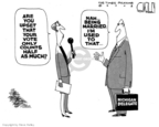 Cartoonist Steve Kelley  Steve Kelley's Editorial Cartoons 2008-06-03 2008 delegate