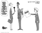 Cartoonist Steve Kelley  Steve Kelley's Editorial Cartoons 2008-08-19 someone