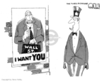 Cartoonist Steve Kelley  Steve Kelley's Editorial Cartoons 2008-09-21 wall