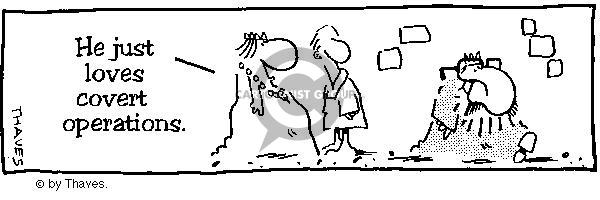 Comic Strip Bob Thaves  King Baloo 1988-11-17 recognize
