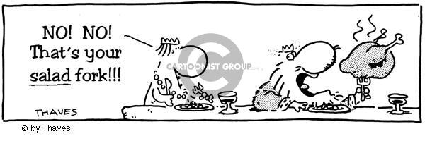 Comic Strip Bob Thaves  King Baloo 1988-12-14 food