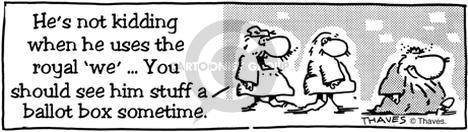 Comic Strip Bob Thaves  King Baloo 1990-01-01 candidate