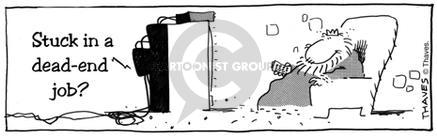 Comic Strip Bob Thaves  King Baloo 1990-01-01 career