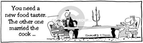 Comic Strip Bob Thaves  King Baloo 1990-01-01 taste