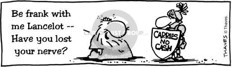 Comic Strip Bob Thaves  King Baloo 1988-12-21 ruler