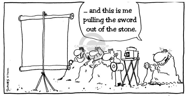 …and this is me pulling the sword out of the stone.