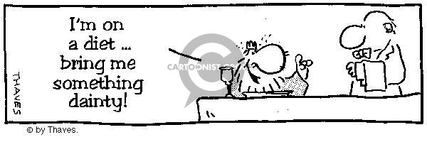 Comic Strip Bob Thaves  King Baloo 1988-07-12 food