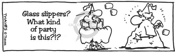 Comic Strip Bob Thaves  King Baloo 1990-01-01 festivity