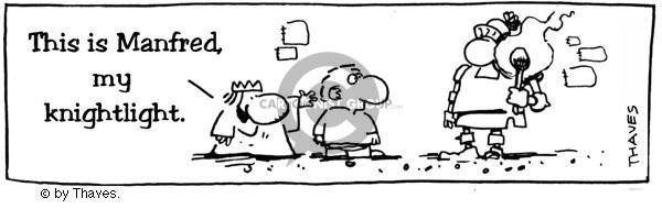 Comic Strip Bob Thaves  King Baloo 1990-01-01 bulb