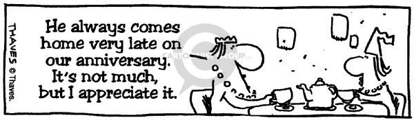 Comic Strip Bob Thaves  King Baloo 1990-01-01 Bob