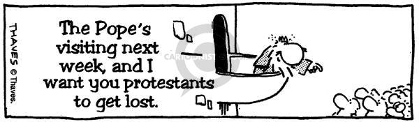 Comic Strip Bob Thaves  King Baloo 1990-01-01 throw