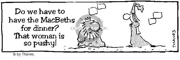 Comic Strip Bob Thaves  King Baloo 1990-01-01 food