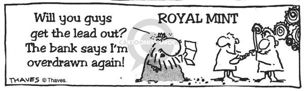 Comic Strip Bob Thaves  King Baloo 1990-01-01 worth