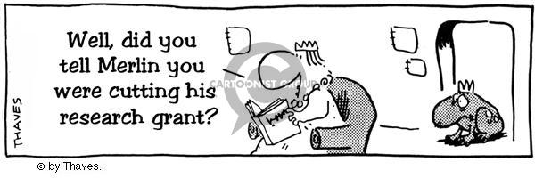 Comic Strip Bob Thaves  King Baloo 1989-03-17 queen