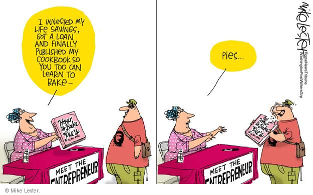 Cartoonist Mike Lester  Mike Lester's Editorial Cartoons 2011-10-10 bake