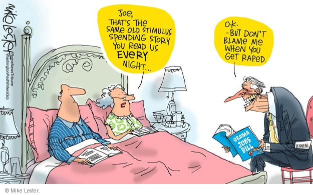 Mike Lester  Mike Lester's Editorial Cartoons 2011-10-21 Joe Biden