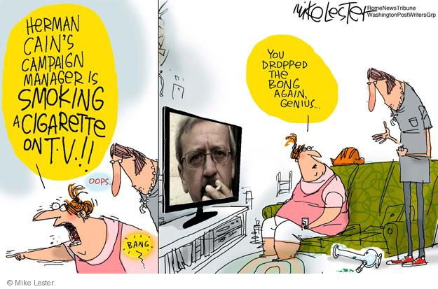 Mike Lester  Mike Lester's Editorial Cartoons 2011-10-27 television
