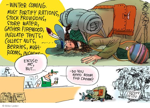 Cartoonist Mike Lester  Mike Lester's Editorial Cartoons 2011-11-15 weather