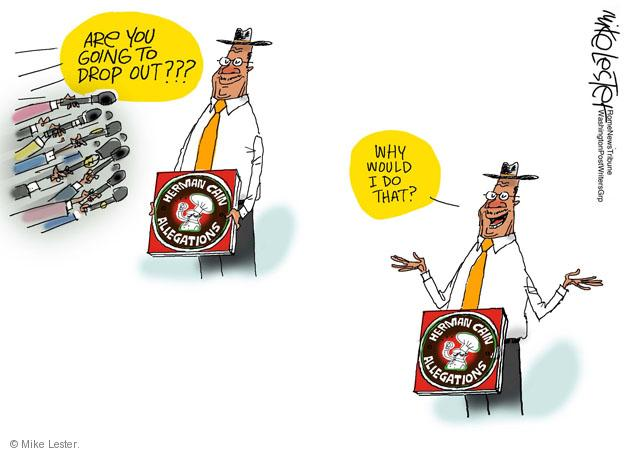 Cartoonist Mike Lester  Mike Lester's Editorial Cartoons 2011-12-01 2012 primary