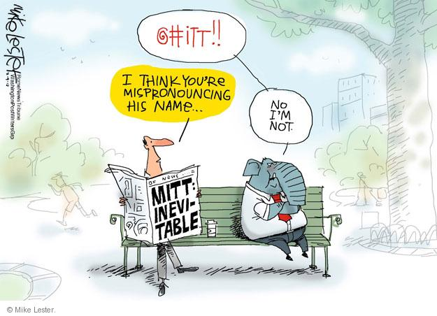 Cartoonist Mike Lester  Mike Lester's Editorial Cartoons 2012-03-09 2012 primary