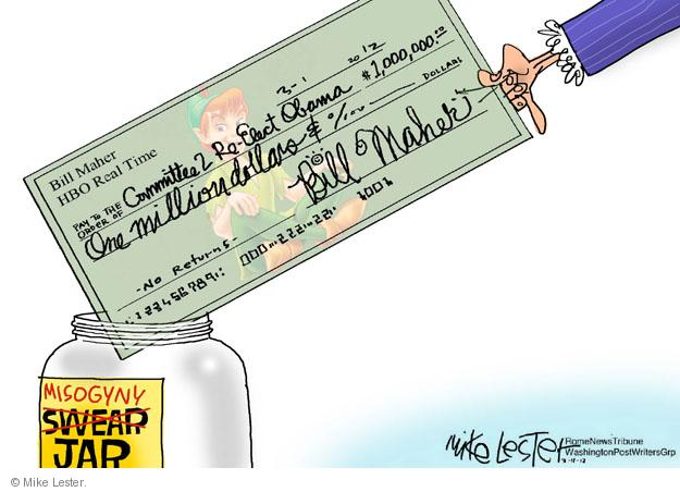 Mike Lester  Mike Lester's Editorial Cartoons 2012-03-12 $1,000