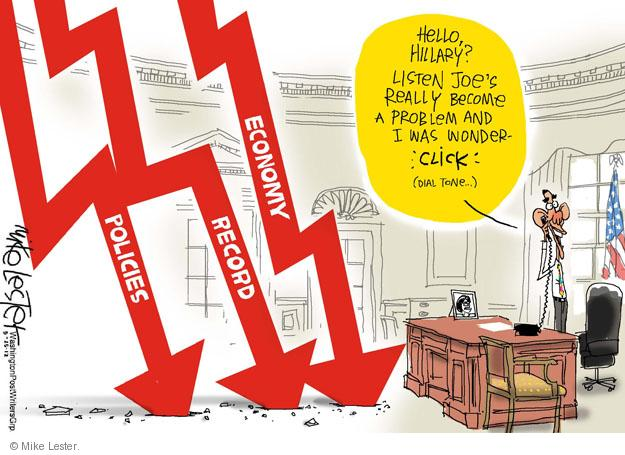 Mike Lester  Mike Lester's Editorial Cartoons 2012-05-25 Joe Biden
