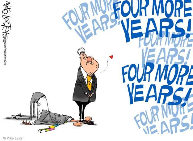 Mike Lester  Mike Lester's Editorial Cartoons 2012-06-09 former president