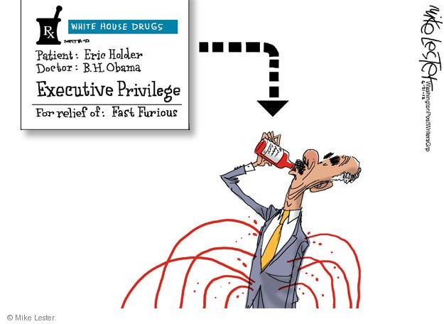 Mike Lester  Mike Lester's Editorial Cartoons 2012-06-21 Obama republicans