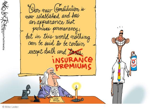 Cartoonist Mike Lester  Mike Lester's Editorial Cartoons 2012-06-29 Constitution