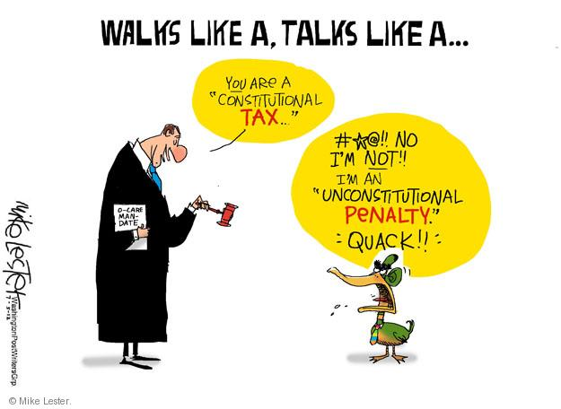 Mike Lester  Mike Lester's Editorial Cartoons 2012-07-05 unconstitutional