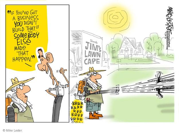 Cartoonist Mike Lester  Mike Lester's Editorial Cartoons 2012-07-20 business