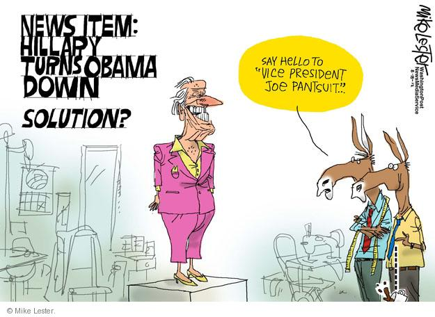 Cartoonist Mike Lester  Mike Lester's Editorial Cartoons 2012-08-18 solution