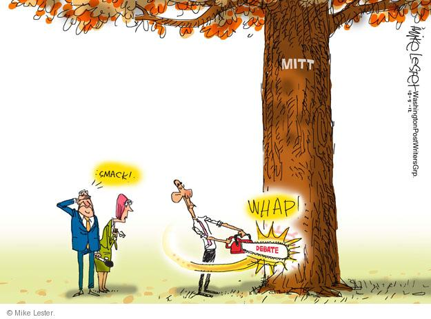 Mike Lester  Mike Lester's Editorial Cartoons 2012-10-04 Obama republicans