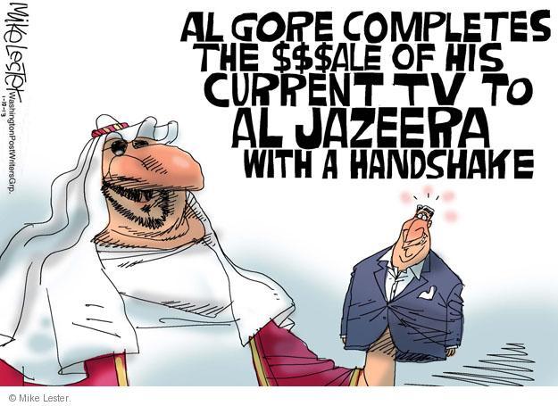 Cartoonist Mike Lester  Mike Lester's Editorial Cartoons 2013-01-10 Al Gore