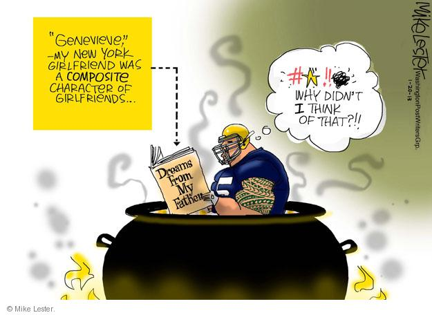 Cartoonist Mike Lester  Mike Lester's Editorial Cartoons 2013-01-20 fake
