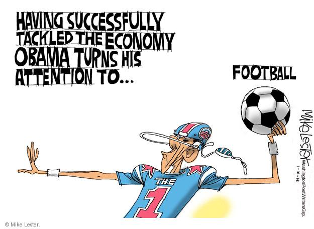 Cartoonist Mike Lester  Mike Lester's Editorial Cartoons 2013-01-31 economy