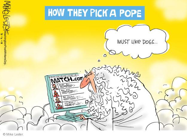 Cartoonist Mike Lester  Mike Lester's Editorial Cartoons 2013-03-06 dog