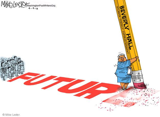 Cartoonist Mike Lester  Mike Lester's Editorial Cartoons 2013-04-04 education