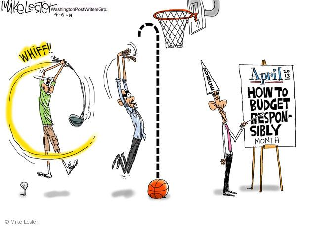 Mike Lester  Mike Lester's Editorial Cartoons 2013-04-06 basketball