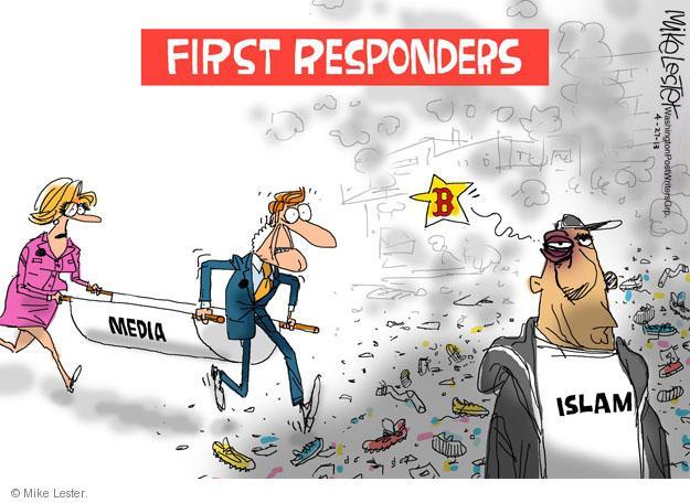 Mike Lester  Mike Lester's Editorial Cartoons 2013-04-27 Muslim
