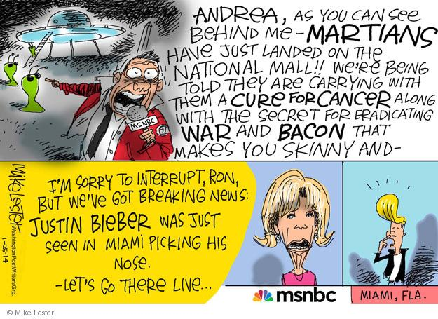 Cartoonist Mike Lester  Mike Lester's Editorial Cartoons 2014-01-25 cure