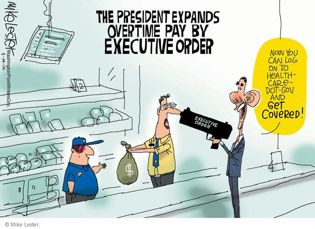 Cartoonist Mike Lester  Mike Lester's Editorial Cartoons 2014-03-14 executive