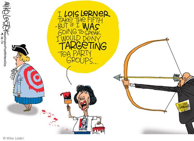 Mike Lester  Mike Lester's Editorial Cartoons 2014-04-12 scrutiny