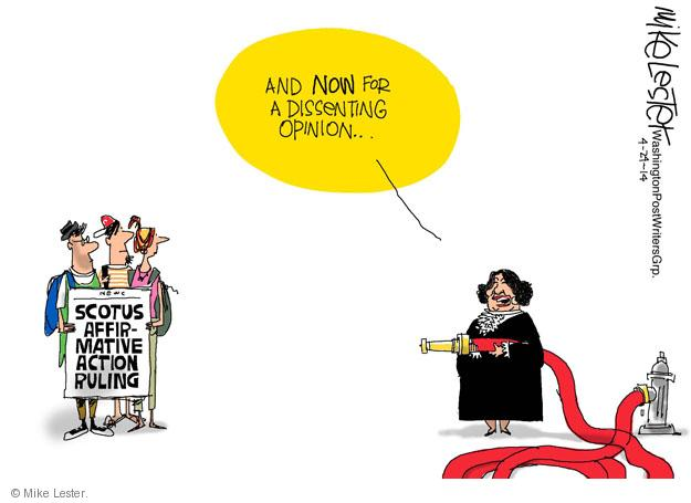 Cartoonist Mike Lester  Mike Lester's Editorial Cartoons 2014-04-24 education