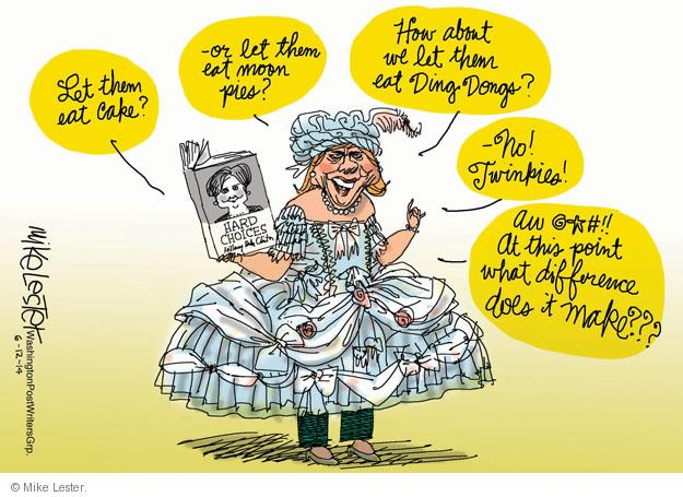 Cartoonist Mike Lester  Mike Lester's Editorial Cartoons 2014-06-12 book