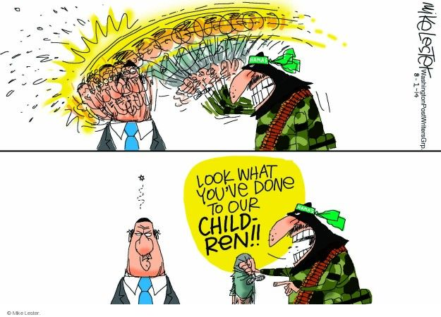 Mike Lester  Mike Lester's Editorial Cartoons 2014-08-01 Israel